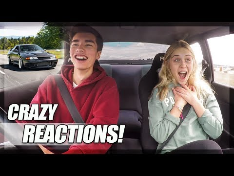 My High School Friends React to my Skyline GT-R! (Crazy Ride Reactions!)