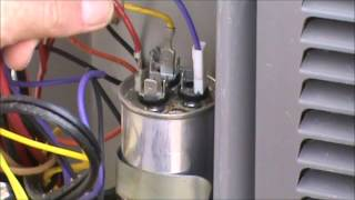 HVAC Training - Dual Capacitor Checkout