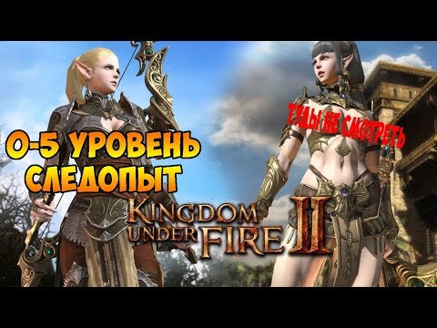 Kingdom Under Fire II → 1: Стратегия + MMORPG (0-5lvl)