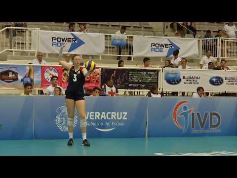 Volleyball Women's U20 World Championship: Brasil vs USA