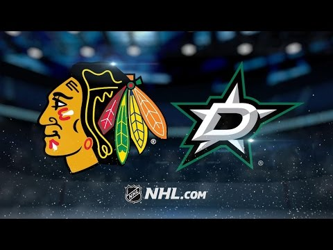Stars beat Blackhawks, take over conference lead