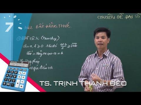 Luyện thi lớp 10 chuyên toán: Bất đẳng thức, giá trị lớn nhất, giá trị nhỏ nhất | HỌC247