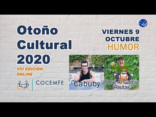 Otoño Cultural 2020 COCEMFE Cáceres VIII Edición Online: Humor