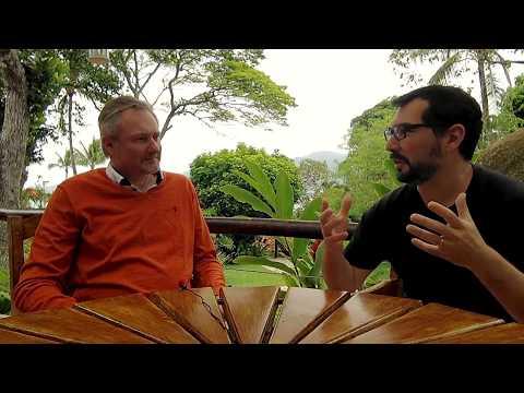 David J Anderson conversa com Rodrigo Yoshima após o Lean Kanban Brazil  LIGUE AS LEGENDAS