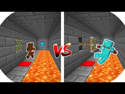 ZENGİN VS FAKİR PARKUR YARIŞMASI! 😱 - Minecraft