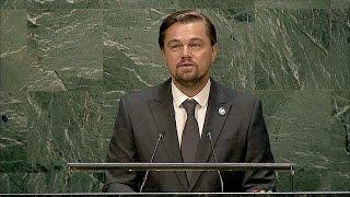 Дуглас и Ди Каприо отметили в ООН Международный день мира (новости)