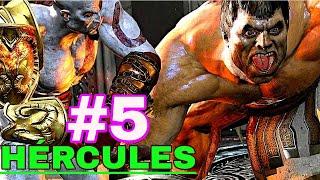 GOD OF WAR 3 SPEEDRUN +100% no very hard - #5: HÉRCULES o semideus mais poderoso