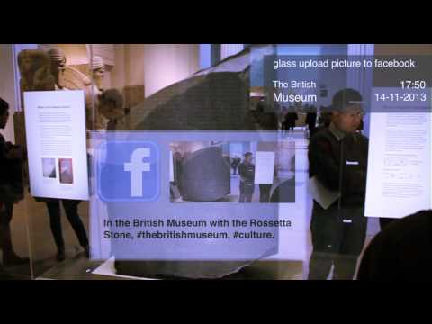 THE BRISTISH MUSEUM GOOGLE GLASS PROJECT-FERMIN ESPIN