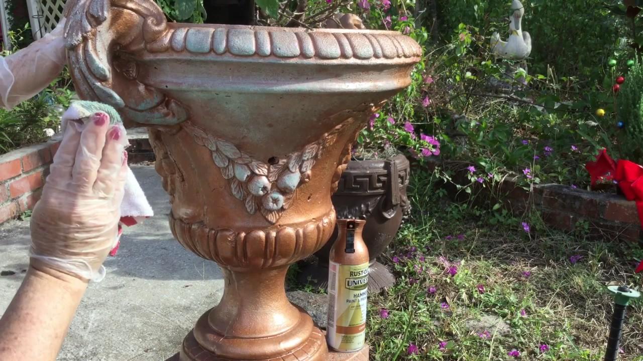 victorian planters large stone garden shop planter plant on s tazza pedestal