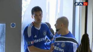 FA Cup Final 2010 - Ballack injury - exclusive behind the scenes