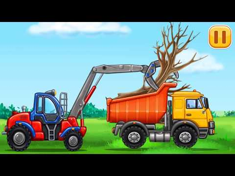 Build a house/Игры для мальчиков: машинки для детей/Строительные машины