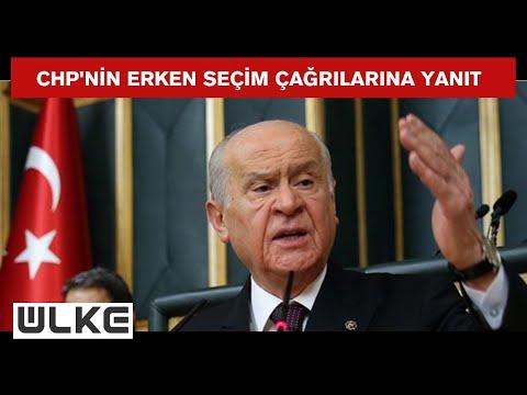 Devlet Bahçeli: ''2023'te adayımız Recep Tayyip Erdoğan'dır''