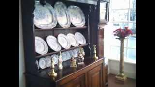 Snowdonia Antiques , Llanrwst . A Very Early Oak Welsh Dresser .