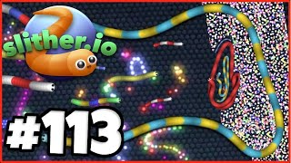 HACKED Slither.io LIVE with Fans! - WE BROKE THE SERVER 🔥 - Slither.io Part 113