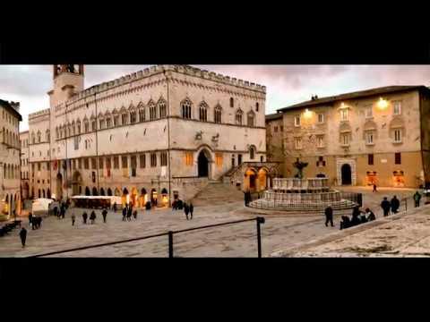 Perugia in timelapse - 4K Ultra HD