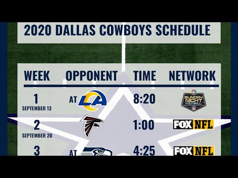 Cowboys game-by-game predictions: How many wins will Dallas ...