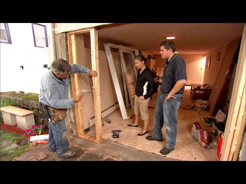 How to Install a Sliding Glass Door - This Old House