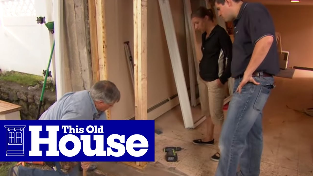 How To Install A Sliding Gl Door This Old House