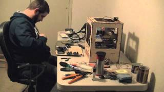 Timelapse: Makerbot Thing-O-Matic 3D Printer Assembly