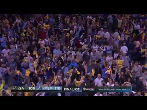 Marc Gasol hits the game-winner for the Memphis Grizzlies! #NBAPlayoffs