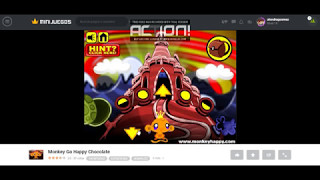 Monkey Go Happy Chocolate Walkthrough