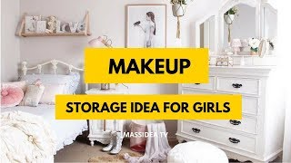 75+ Beautiful Small Space Makeup Storage for Girls