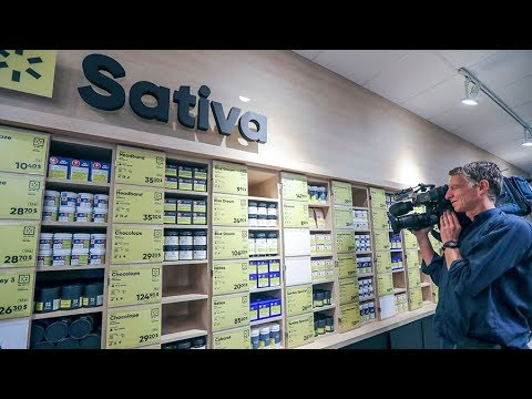 SQDC: First look inside new Montreal cannabis store.