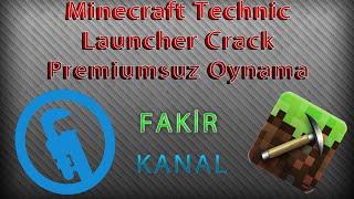 Minecraft Technic Launcher Crack Yapma ve Premiumsuz Oynama