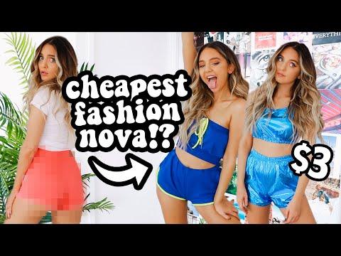 TRYING $3 FASHION NOVA CLOTHING?!