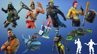 'NOUVEAU' ALL SKINS V5.10 PATCH LEAKED DIVERS Skins 'ALOT MORE ' FORTNITE BATTLE ROYALE !