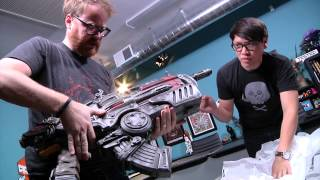 Tested Mailbag: Gears of War 3 Hammerburst Replica!