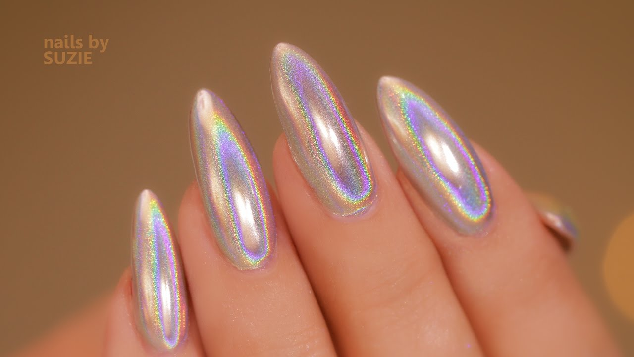 Holo Chrome - Unicorn Holographic Pigment - YouTube