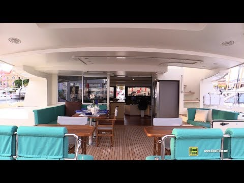 2019 Serenity 64 Solar Power Catamaran - Deck, Interior Walkaround - 2018 Cannes Yachting Festival