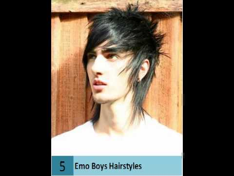 10 Emo Boys Haircuts Cool Boys Haircuts Youtube