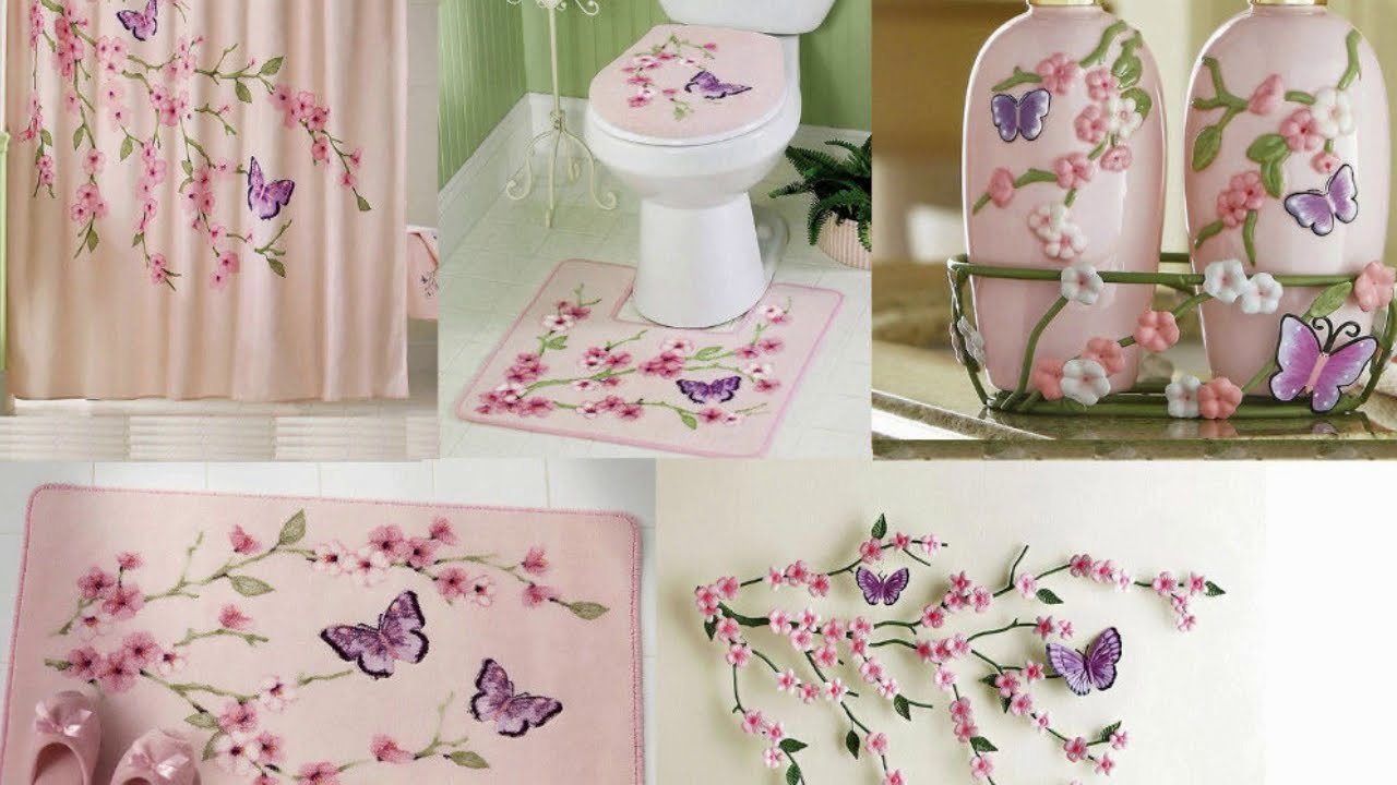 Bathroom Sets With Shower Curtain And Rugs And Accessories