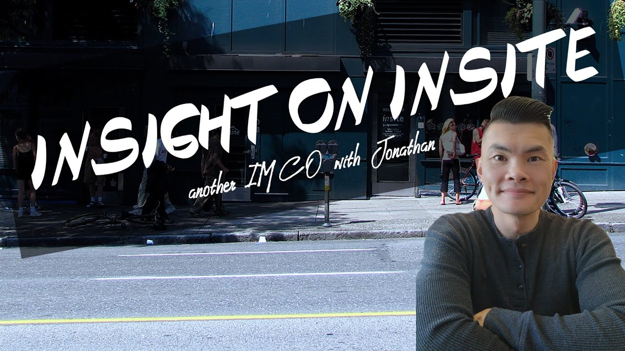 """Insight on Insite"" A Christian Opinion on Safe Consumption Sites with Jonathan"