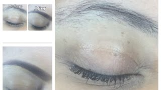 Eyebrow tutorial 2016  How to mask your eyebrows when growing them out!