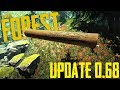 The Forest - Update 0.68 - Neue Texturen, Krokodile schwimmen, HUD fix, Chainsaw Location neu! +++