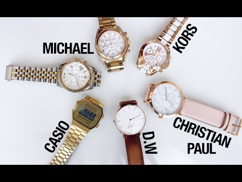 REVIEW/DEMO: LADIES WATCH COLLECTION♡ | Amina Chebbi thumbnail