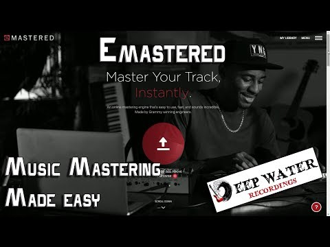 Emastered - Music Mastering Made Easy || Review by Vincenzo Avallone