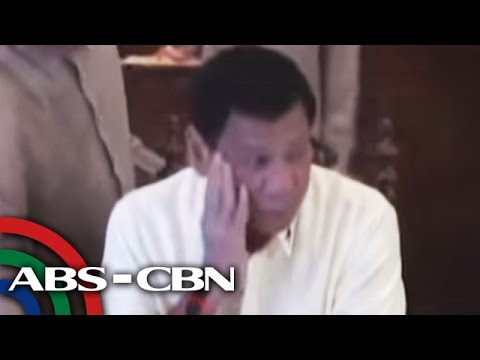 Duterte, inireklamo sa International Criminal Court