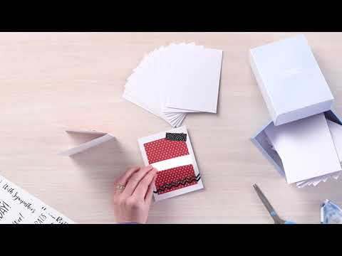 Blank Card Kit: Making a Card by Creative Memories