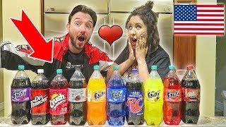 Nouvelle dégustation en couple avec SHERA ! On test des sodas améri...