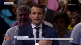 En Marche ! : la liste des candidats dévoilée