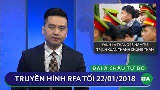 Tin tức thời sự: Tuyên án ông Thăng 13 năm tù và ông Thanh chung thân