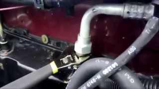 Auto Air Conditioner Repair - Full Rebuild - 89 Olds Ciera - Part 1