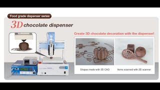 초콜릿 3D 프린터 '무사시 디스펜서'