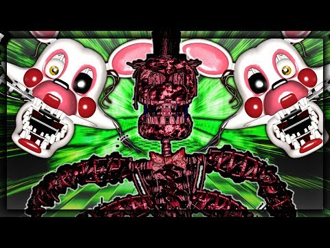 WHO IS THE FASTER ANIMATRONIC MANGLE OR CREATION - Five Nights at Freddy's Gmod