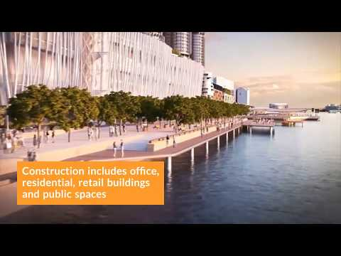 $2 Billion Contract Awarded to Develop the Central Barangaroo Project