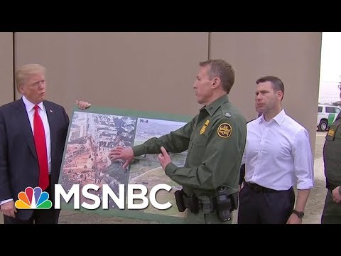 President Donald Trump Calls For Tougher Border, But Crossings Are Down | Morning Joe | MSNBC